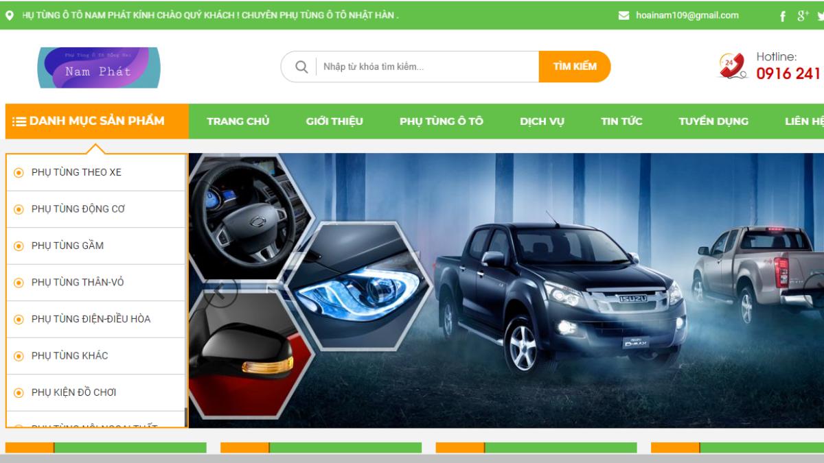 Công ty phụ tùng đồ chơi ô tô Nam Phát
