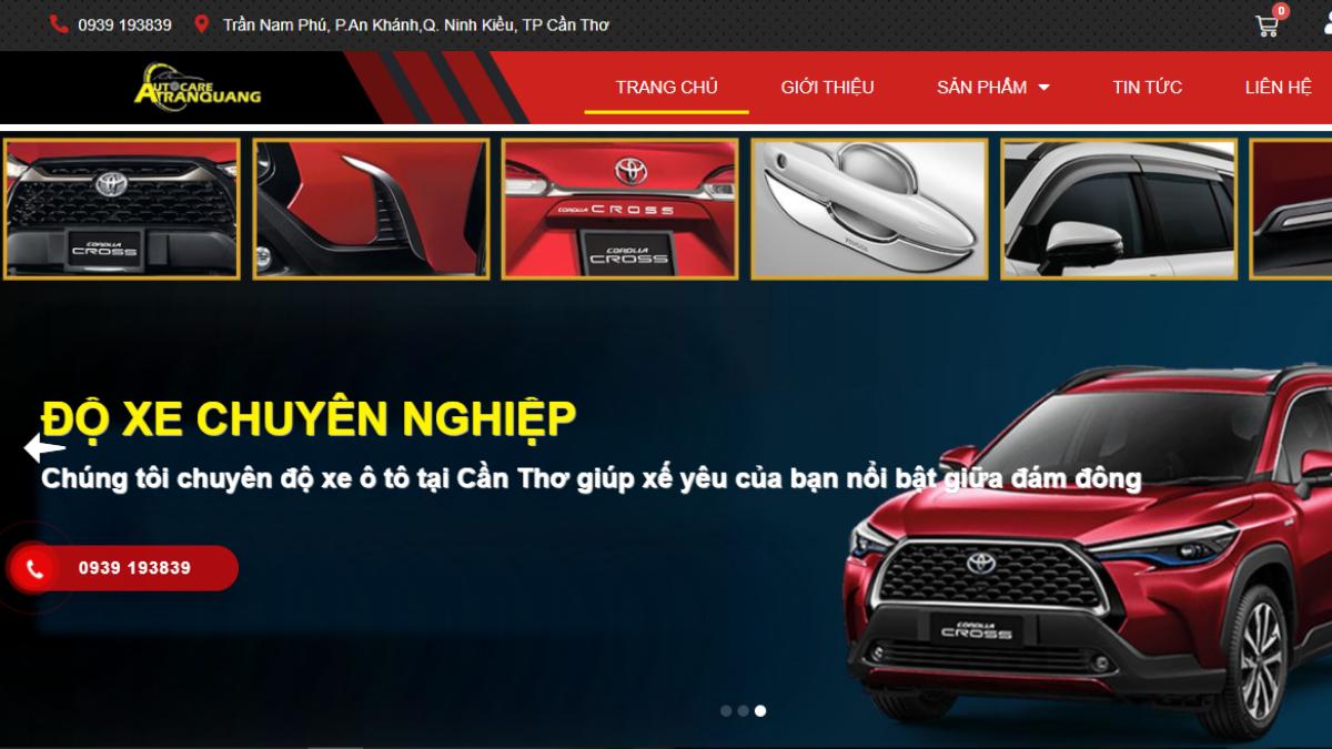 Công ty phụ tùng đồ chơi ô tô Trần Quang