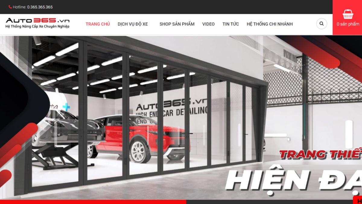 Công ty phụ tùng đồ chơi xe hơi Auto365 Vũng Tàu
