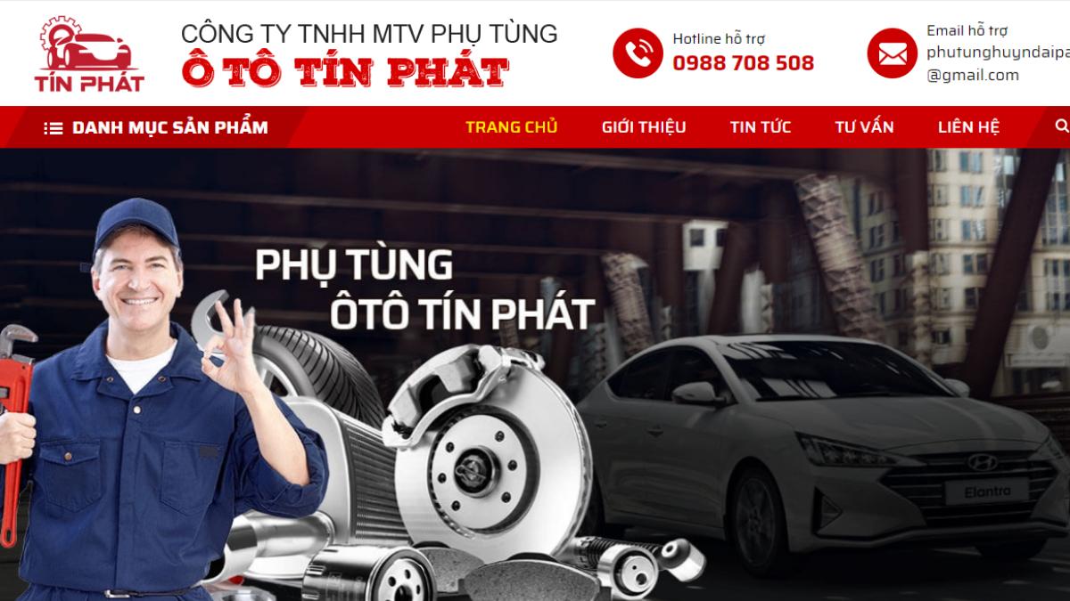 Công ty phụ tùng - phụ kiện - đồ chơi ô tô Tín Phát