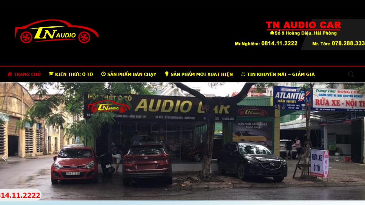 Công ty phụ tùng – phụ kiện – đồ chơi ô tô TN AUDIO CAR
